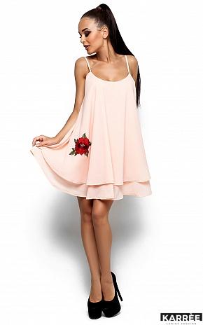 Платье Ассоль, Персик - фото 2
