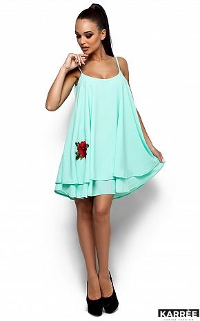 Платье Ассоль, Ментол - фото 2