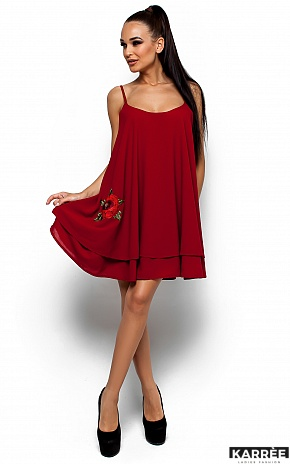 Платье Ассоль, Марсала - фото 1