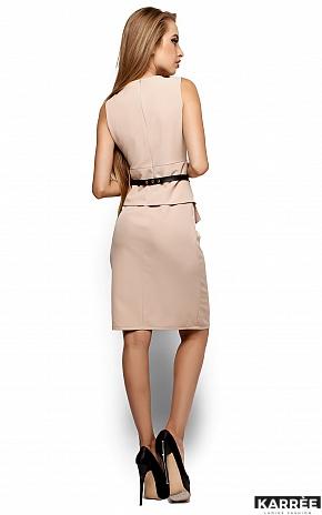 Платье Энбери, Бежевый - фото 3