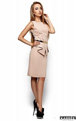 Платье Энбери, Бежевый