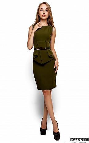 Платье Энбери, Оливковый - фото 1