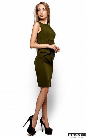 Платье Энбери, Оливковый - фото 2