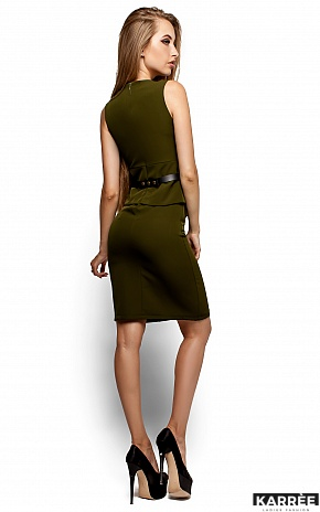Платье Энбери, Оливковый - фото 3