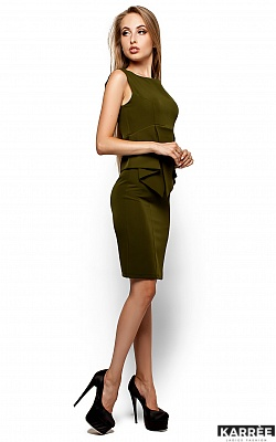 Платье Энбери, Оливковый