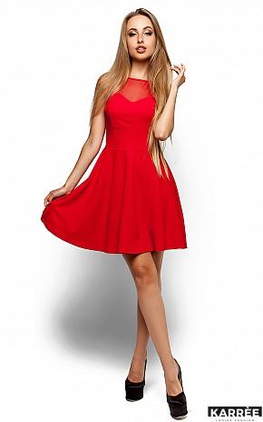 Платье Арина, Красный - фото 1