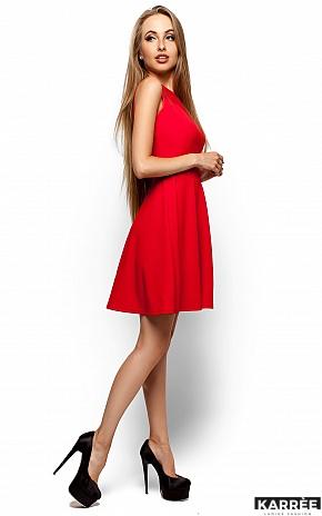 Платье Арина, Красный - фото 2