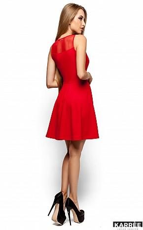 Платье Арина, Красный - фото 3