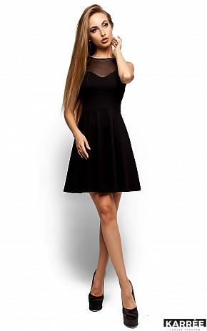 Платье Арина, Черный - фото 1