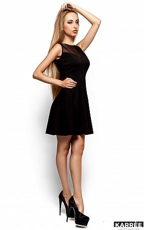 Платье Арина, Черный - фото 2