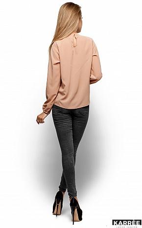 Блуза Майя, Бежевый - фото 3