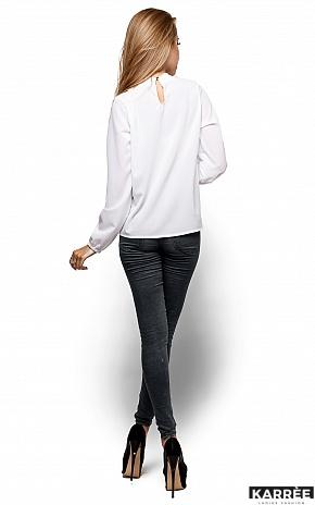 Блуза Майя, Белый - фото 3