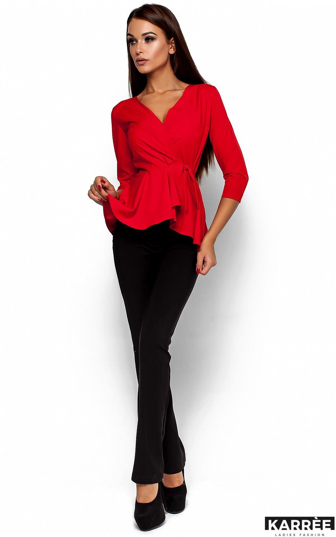 Блуза Касио, Красный - фото 1