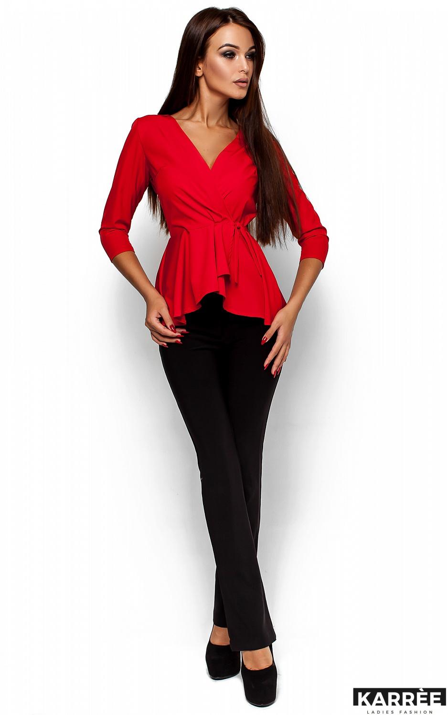 Блуза Касио, Красный - фото 2
