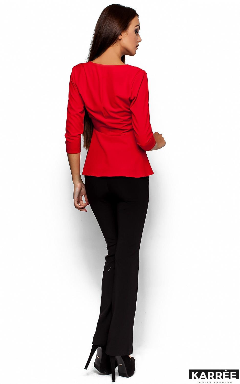 Блуза Касио, Красный - фото 3
