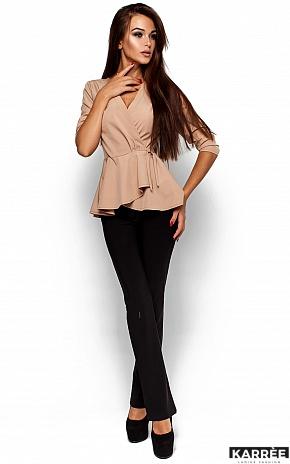 Блуза Касио, Бежевый - фото 1
