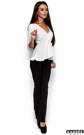 Блуза Касио, Белый - фото 2