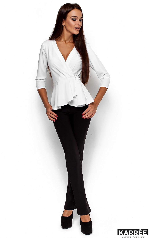 Блуза Касио, Белый - фото 1