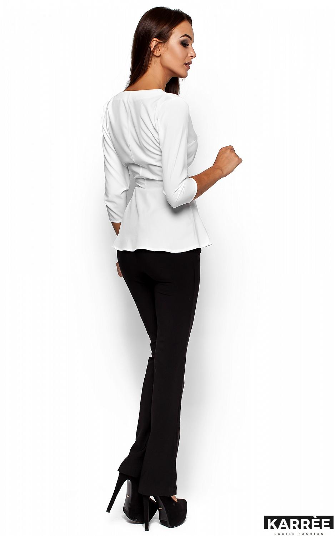 Блуза Касио, Белый - фото 3