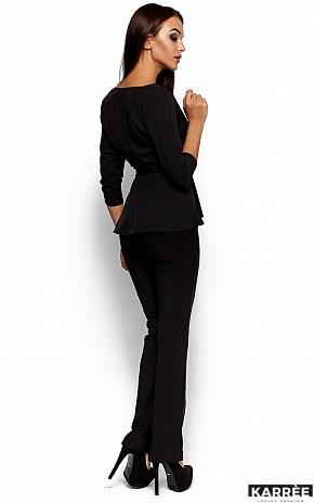 Блуза Касио, Черный - фото 3