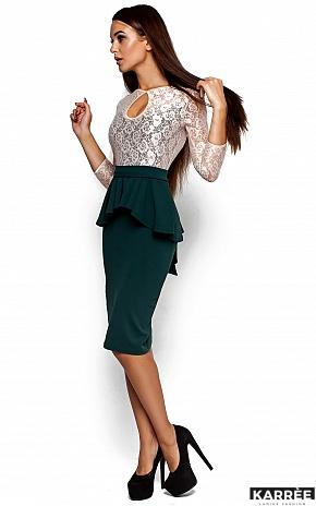 Платье Мускат, Темно-зеленый - фото 2