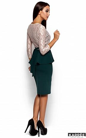 Платье Мускат, Темно-зеленый - фото 3