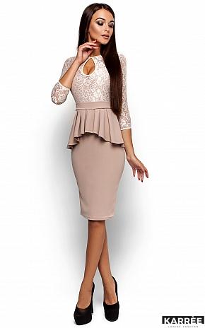 Платье Мускат, Бежевый - фото 1
