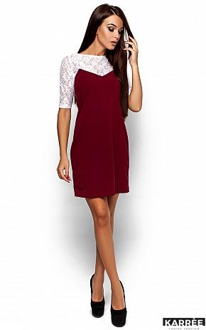 Платье Монтана, Марсала - фото 1