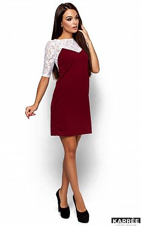 Платье Монтана, Марсала - фото 2