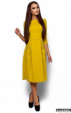 Платье Сомали, Горчичный - фото 1