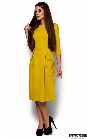 Платье Сомали, Горчичный - фото 2