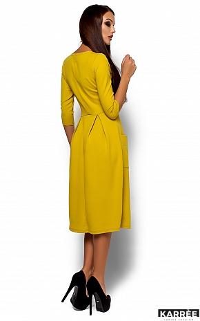 Платье Сомали, Горчичный - фото 3