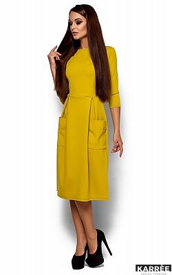 Платье Сомали, Горчичный