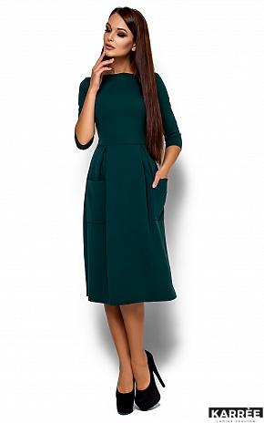 Платье Сомали, Темно-зеленый - фото 1