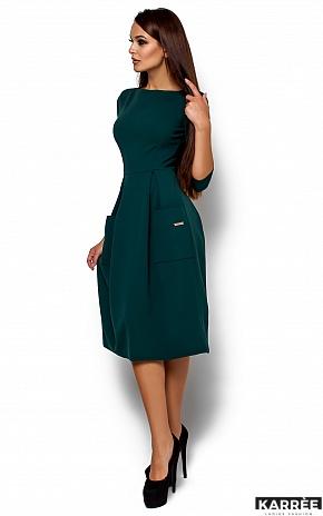 Платье Сомали, Темно-зеленый - фото 2