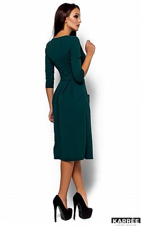 Платье Сомали, Темно-зеленый - фото 3