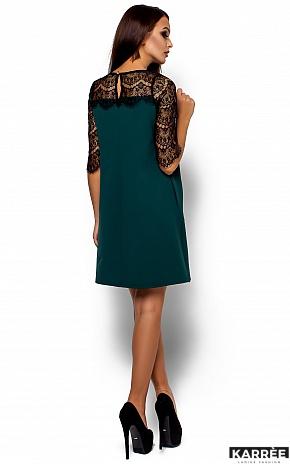 Платье  Ангола, Темно-зеленый - фото 3
