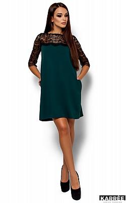Платье  Ангола, Темно-зеленый