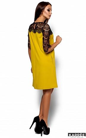 Платье  Ангола, Горчичный - фото 3