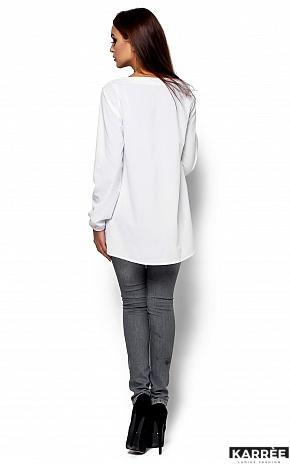 Блуза Ингрид, Белый - фото 3