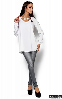 Блуза Ингрид, Белый