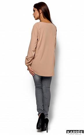 Блуза Ингрид, Бежевый - фото 3