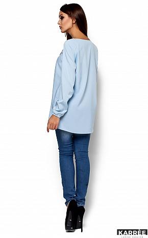 Блуза Ингрид, Голубой - фото 3