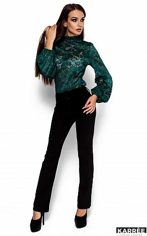 Блуза Австралия, Темно-зеленый - фото 2