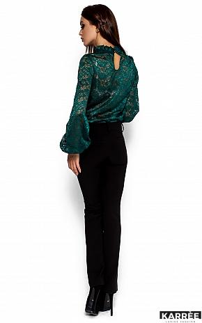 Блуза Австралия, Темно-зеленый - фото 3