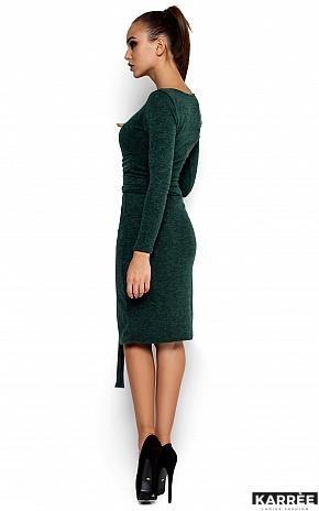 Платье Лейсан, Темно-зеленый - фото 3