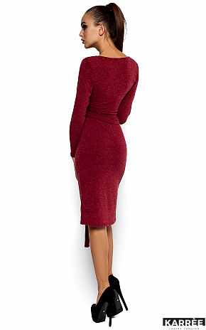 Платье Лейсан, Бордо - фото 3