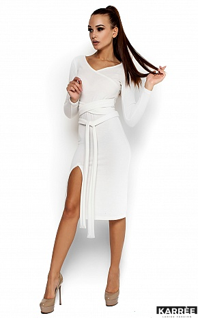 Платье Лейсан, Белый - фото 1