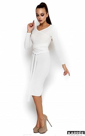 Платье Лейсан, Белый - фото 2