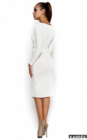 Платье Лейсан, Белый - фото 3